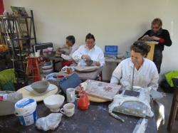 COURS DE MODELAGE/FABRICATION EMAILLAGE/CUISSON RAKU