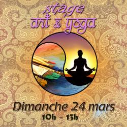 Stage Art et Yoga.