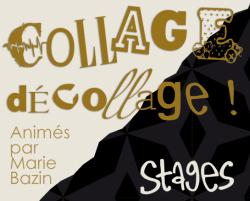 stage collage d'art.